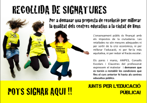 RECOLLIDA DE SIGNATURES